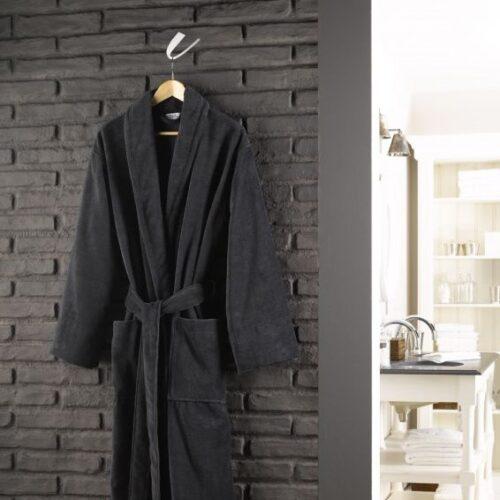 De Witte Lietaer badjas mannen zwart